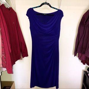 Purple Ralph Lauren Layered Formal Dress